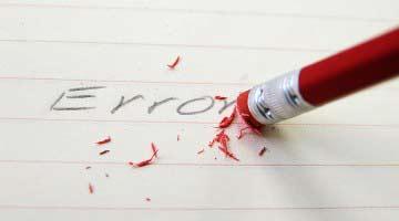 Los 10 errores de un blogger principiante