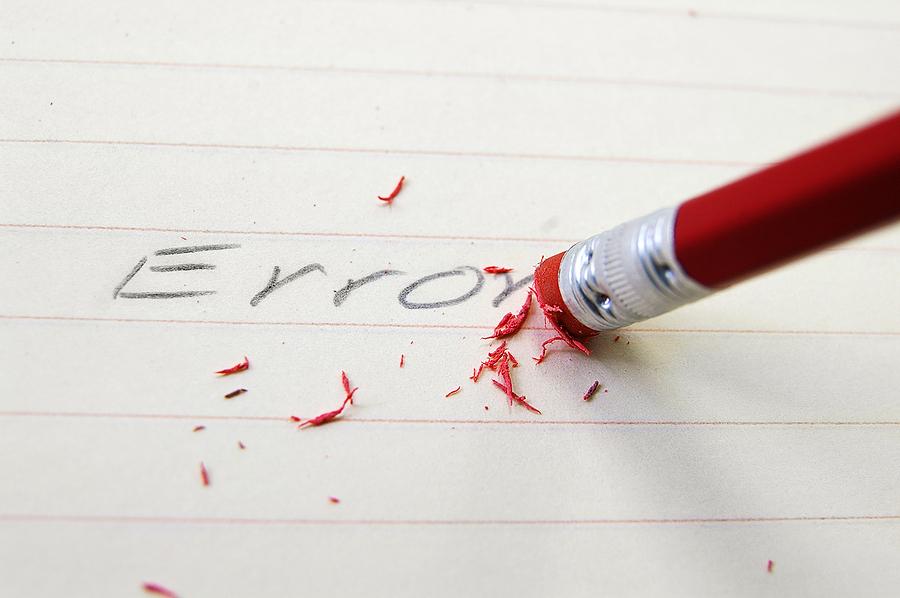 errores de un blogger