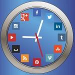 ¿Cuál es la mejor hora para compartir en redes sociales?